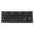 Royal Kludge G87 87-knappar Trådlös bluetooth 3.0 USB Wired Mechanical Gaming Keyboard Brun switch