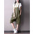 S-5XL Women Cotton Loose Solid Color Jumpsuit with Pockets