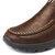 Zapato Casual para Hombres de Dedo del Pie Moc Suave Confortable Resbalón Cuero de Oxfords