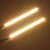14 cm COB LED Daytime Running Lights DRL Strip Lampu Waterproof 12V 8W 500LM 2PCS Universal