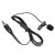 Tie Clip Lapel Wireless Lavalier Microphone Mic for Sennheiser EW100 EW300 EW500 G2 G3