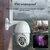 10LED 5X Zoom HD Camera an ninh 2MP WiFi Không dây 1080P PTZ ngoài trời chống nước ban đêm Tầm nhìn ONVIF