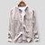 Áo cotton cổ điển nam dài tay đứng cổ áo màu rắn nút áo sơ mi bay