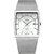 WWOOR 8831 Square Dial Luminous Display Men Wrist Watch Mesh Steel Calendar Quartz Watch