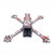 Venom 5 Inch 235mm Wheelbase X Style Split 4mm Arm Frame Kit Carbon Fiber with Sticker for RC Drone FPV Racing