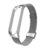 Bakeey Milanese Paslanmaz Çelik Değiştirme İzle Band Xiaomi Mi Band 4 için Metal Toka Akıllı Izle