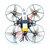 Happymodel Mobula7 V2 75mm Crazybee F3 Pro OSD 2S Whoop FPV Závodní Drone w / Upgrade BB2 ESC 700TVL BNF