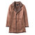 Mens Mid Long Winter Faux Chamois Leather Lamb Fur Trench Coat Thick Warm Suede Jacket
