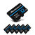 MicroData 8GB 16GB 32GB 64GB 128GB Class 10 V30 High Speed Max 80Mb/s TF Memory Card With Card Adapter For Mobile Phone Tablet GPS Camera Drone
