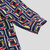 Mens Summer Plaid Printed Mode Stand Kragen Andas Skjortor