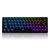 Geek GK64 64 Key Gateron Switch Hot Swappable CIY Switch RGB Backlit Mechanical Gaming Keyboard
