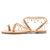 Large Size Pearls Pendant Slip On Casual Flat Sandals For Women