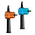 Blue or Orange Double Headed Sheet Metal Cutting Nibbler Drill Attachment Metal Cutter