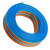 5M 1.27mm Pitch Ribbon Cable 16P Flat Color Rainbow Ribbon Cable Wire Rainbow Cable
