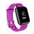 Bakeey D13 1.3 इंच कलर स्क्रीन टच Wristband HR ब्लड प्रेशर मॉनिटर विजिबल मैसेज शो स्मार्ट वॉच