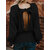 Women Sexy Back Hollow Bow Winter Knitting Casual Sweaters