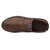 Menico Men Casual Comfy Soft Moc Toe Slip On Leather Oxfords