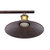 Industrial Vintage Hanging Retractable Pulley Pendant Light Ceiling Light Holder Chandeliers Lamp Fixture fit for E27 Bulb AC100-240V Rust / Black