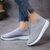 נשים מקרית נעליים Plus מידה לנשום רשת לעקוף על נעלי וולקניז נעלי נשים