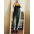 Casual Women Solid Color Cotton Linen Jumpsuit with Pockets