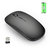 M80 1600DPI Chargeable 4GHz Wireless Silent Optical Office Mouse for Laptops Tablets