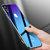 Cafele Gradient Tempered Glass Beskyttelsesveske For iPhone X / XR / XS/XS Maks. Skrabestandig bakdeksel