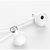 Original Xiaomi 3.5mm Earphone Dynamic Driver Ceramics Driver Shallow In-ear Wired Headphone With Mic