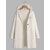 Women Casual Solid Color Hooded Cardigans