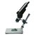 MUSTOOL G1200 Digital Microscope 12MP 7 Inch Large Color Screen Large Base LCD Display 1-1200X Continuous Amplification Magnifier with Aluminum Alloy Stand
