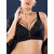 Plus Size Lace Criss Cross Full Coverage Gather Adjustable Bra