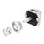 10Pcs Push Button Drawer Cupboard Door Catch Lock Caravan Rv Cabinet Latch Knob