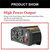 4000W Power Inverter Power Supply 12DC to 110V AC for Car Home Outdoor