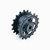 5 PCS Kecil Hammer Plastik Motor Crawler Belt Driver Roda Untuk DIY RC Robot Tank 50 * 20mm