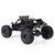 Eachine EAT04 1/12 2.4G 4WD Sikat Rc Mobil Logam Tubuh Shell Desert Off-road Truk RTR Mainan Hitam