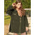 Fleece Patchwork Solid Color Irregular Hem Long Sleeve Coats