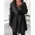 Women Casual Lapel Coats Winter Fleece Jackets