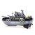 1629 4CH पैट्रोल आरसी बोट मिलिट्री शिप व्हीकल मॉडल चिल्ड्रन टॉय विदाउट बैटरी