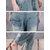 Plus Size Women Casual Loose Denim Pants with Pockets