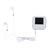 HBNKH H-R320 bluetooth senza perdita HD Lettore MP3 Altoparlante incorporato FM Radio Audio Video Lettore musicale Bianco