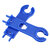 1pair MC4 mc4 Spanner Solar Panel Connector Disconnect Tool Spanners Wrench ABS Plastic Pocket Solar Connect