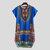 Camiseta de manga corta africana para hombre Dashiki Kaftan Camisa Hippie Poncho Vestido Tops