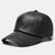 Men PU Leather Vintage Baseball Cap Personality With Woven Hat