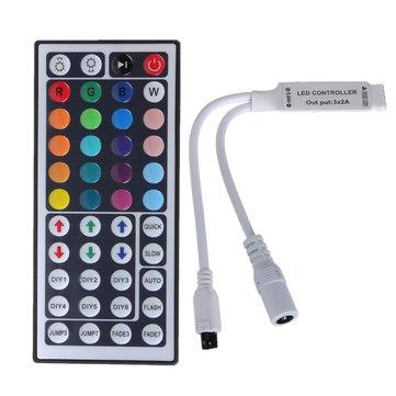 44 Kunci Mini IR Kontrol Pengendali Jarak Jauh Untuk 3528 5050 RGB Strip Light