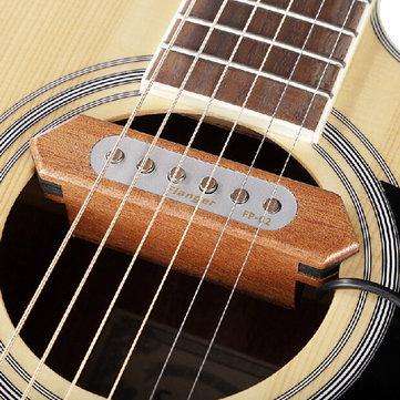 Flanger FP-2 Sound-hole Pickup Transducer Wooden Acoustic Guitar