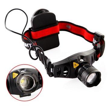 Q5 LED Headlamp Light Zoom Zoomable Headlight Headlamp Torch