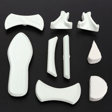 9Pcs Plastic Lady Cutter High-Heeled Shoes Sandals Cake Mould Decorating Tool