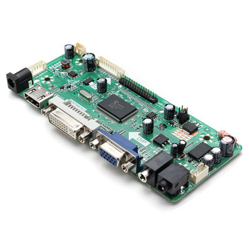 M.NT68676.2A HD Universal LCD Controller Board Driver Module HD VGA DVI With Audio