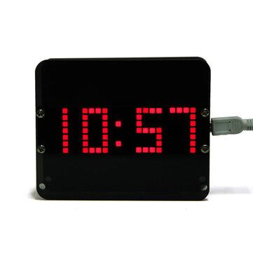 Geekcreit® DIY C51 DS3231 Gravity Sensor LED Digital Phantom Desktop Clock Kit