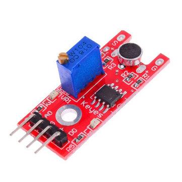 5Pcs KY-038 Microphone Sound Sensor Module For Arduino