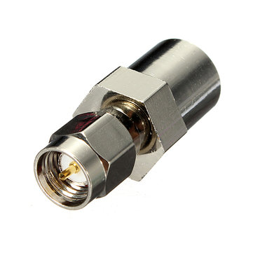 Fme plugue macho de conector do adaptador coaxial SMA plugue macho rf